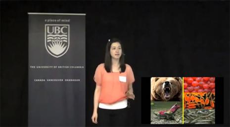 2012 UBC 3MT winner Natalie Sopinka